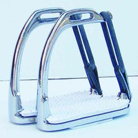 Thornhill Stainless Steel Peacock Safety Stirrups