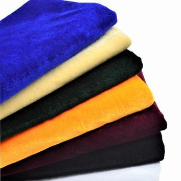 100*160cm Fleece Pleuche Fabric Meter Plush Gorgeous Sewing Tissue Telas Patchwork Quilting Textiles Velvet Fabric Cotton Felt