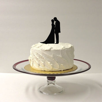 Beautiful Silhouette Wedding Cake Topper Bride and Groom Silhouette Wedding Cake Topper Bride and Groom Cake Topper