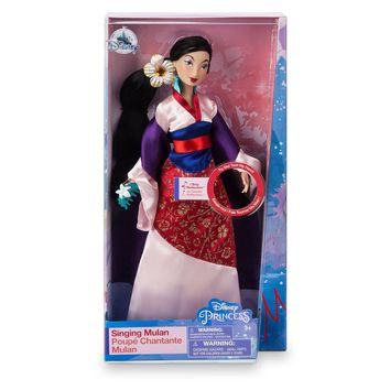 Disney Mulan Reflection Singing Doll New with Box
