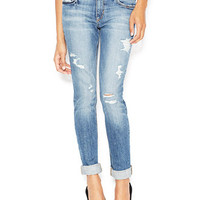 Joe's Slouched Slim Distressed Boyfriend Jeans, Gessa Wash