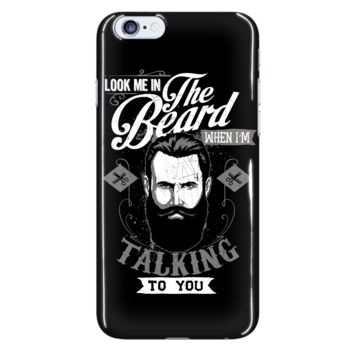 LOVE GROWING A BEARD Black iPhone 6 Plus & iPhone 6S Plus Cellphone Case