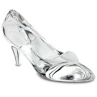 Personalizable Large Cinderella Glass Slipper by Arribas | Disney Store