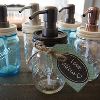 Mason Jar Soap Dispenser - Lid and Pump ONLY <3
