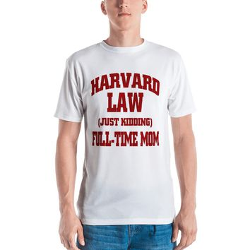 Harvard Law Full Time Mom T-Shirt