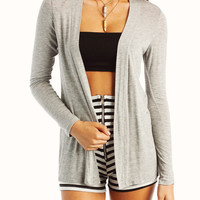 flyaway-cardigan BLACK GREY RED ROYAL TAUPE WHITE - GoJane.com