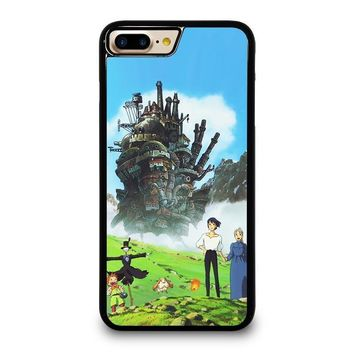 howl s moving castle iphone 4 4s 5 5s se 5c 6 6s 7 8 plus x case  number 1