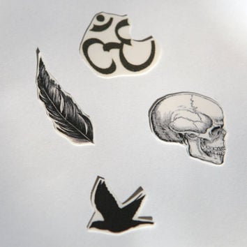 Spirit Ink Temporary Tattoo  Noir Collection by SpiritInk on Etsy