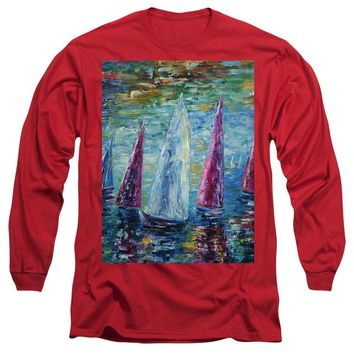 Sails To-night - Long Sleeve T-Shirt
