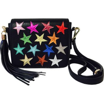 Young Americans Shoulder Bag in Black