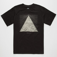 O'neill Meridian Mens T-Shirt Black  In Sizes