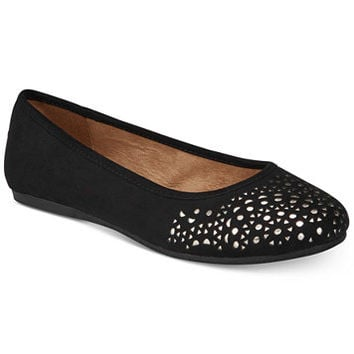 Style & Co Averlay Perforated Flats, Created for Macy's | macys.com
