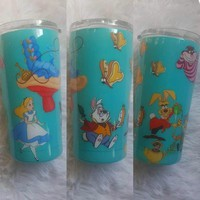 Alice In Wonderland Scene Stainless Steel Tumbler