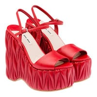 Miu Miu e-store · Shoes · Wedges · Wedge 5XZ259_Y5A_F068Z_F_140