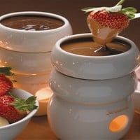Fire Water Chocolate Fondue Tower