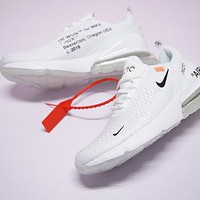Virgil Abloh Off white x Nike Air Max 270 AH8050-100