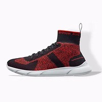 DIOR Woman Men Fashion High-Top Sneakers Sport Shoes