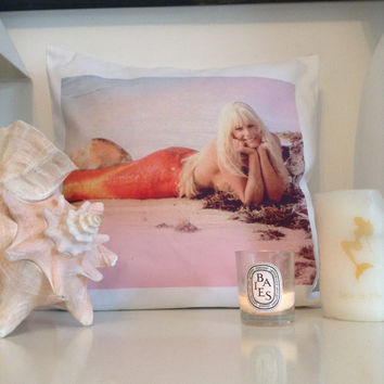Madison Mermaid 'Splash' Cushion