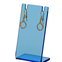 Translucent Blue Jewelry Display Stand