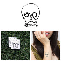 Love You Forever - Temporary Tattoo (Set of 2)