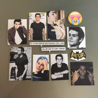 Dylan O'Brien Obrien Sticker Pack FREE SHIPPING
