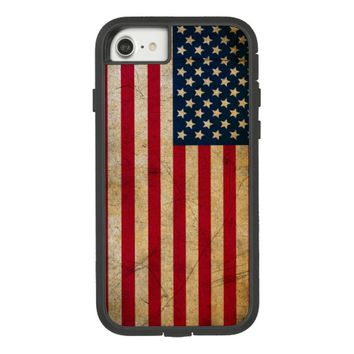 Vintage American Flag Case-Mate Tough Extreme iPhone 7 Case