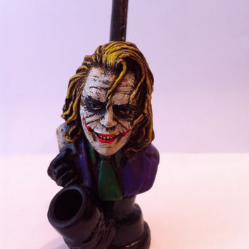 Tobacco Hand Made Pipe, The Joker Design