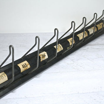 Vintage Industrial Coat Rack / Display Rack / Hat Rack