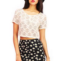 Daisy Shore Top