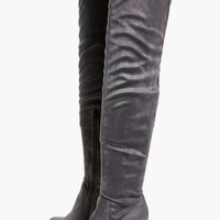 Eloise Block Heel Over The Knee Boot
