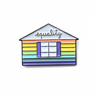 Equality House Pin