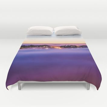 Purple Haze Duvet Cover by Gallery One