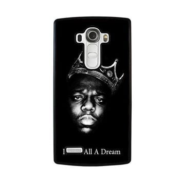 notorious big lg g4 case cover  number 1