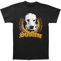 Sublime Men's  Lou Dog T-shirt Black