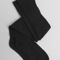 Hillcrest Thigh High Socks In Black
