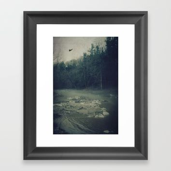 Darkness Prevails Framed Art Print by Faded  Photos
