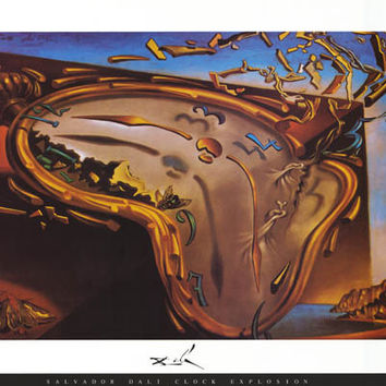 Salvador Dali Soft Watch Poster 24x36