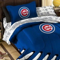 Chicago Cubs 5-piece Twin Bed Set (Cub Team)