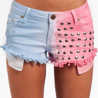 Reverse What A Stud Shorts $64