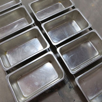 Mini Loaf Pan Industrial Organizer Organizing Tray Storage Tray Storage Bins