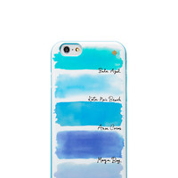 watercolor stripe iphone 6 case