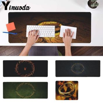 Yinuoda  The Lord of The Rings Office Mice Gamer Soft Mouse Pad Size for 30x90cm and 40x90cm Gaming Mousepads