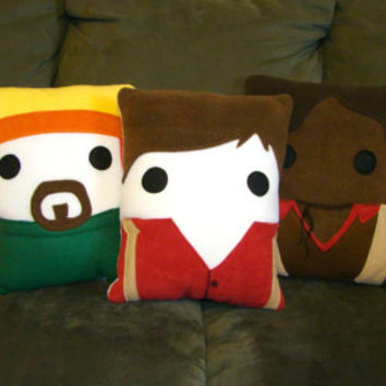 Firefly, Serenity, Pillow, Malcolm, Jayne, Plush