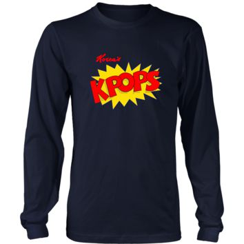 KPOPS Long Sleeve T-Shirt