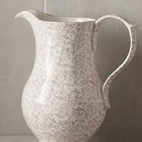 Attingham Pitcher by Anthropologie