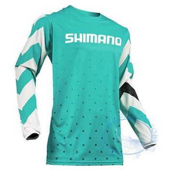 Long Sleeve Breathable Anti UV Quick Dry Fishing Jersey