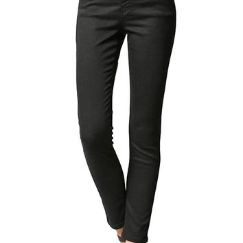 Flying Monkey Black Mid Rise Super Soft Skinny Jeans Y1522BK