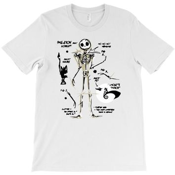 a skeleton concept T-Shirt
