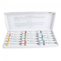 Professional Maries 18 Colors 12ml Watercolor Painting Pigment Set - Default