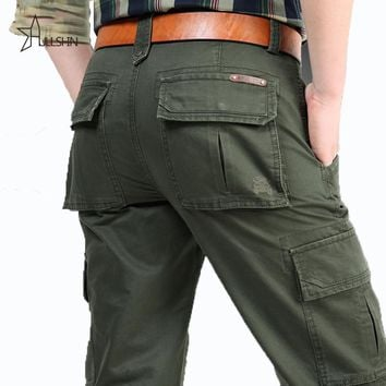 Cargo Pants Military Clothing Pants Military Men casual Army Style Workwear Trousers Baggy Pants 2156
